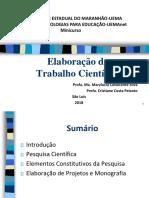 Slide de Conteúdo - Elaboração do Trabalho Científico.pdf
