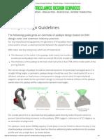 Padeye Design Guidelines