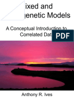 Mixed and Phylogenetic Models a Conceptual Introduction to Correlated Data