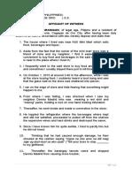 Affidavit of Witness (Practice Court).doc