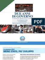 Governo Berlusconi Il Governo Del Fare Pieghevole