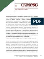 KAP La Tecnologia Entre Los Pliegues de La Palabra REVISTA CATALEJOS