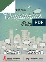 Cartilha Ouvidorias Publicas