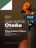 Filarmónica Checa 21-1-2013
