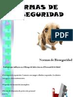 Normas de Bioseguridad General