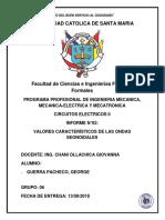 N°02 VALORES CARACTERISTICOS DE LAS ONDAS SENOIDALES