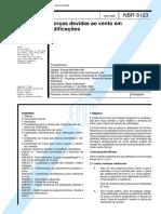 NBR 06123 - 1988 - Forças devidas ao vento em edificações.pdf