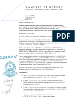 Prentutanan na Minister di VVRP Relashona ku e sistema di Pagatinu di Aqualectra