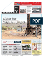 Platinum Gazette 12 October 2018