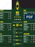 menu layout inside