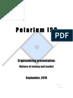 Cryptomining Presentation- September 2018