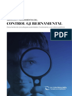 Control Gubernamental 2016