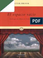 (Imprescindibles 12) Peter Brook-El espacio vacío-Península (2012).pdf
