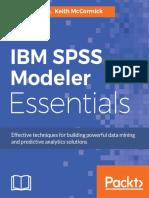 9781788291118-Ibm Spss Modeler Essentials