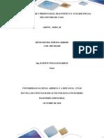 Diagnóstico y Análisis Inicial Del Estudio de Caso