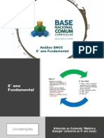 Análise e sugestões BNCC/2018 - 6° ano (EdivanSMendes)
