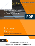 Lerch & Rossman - Cono Flotante