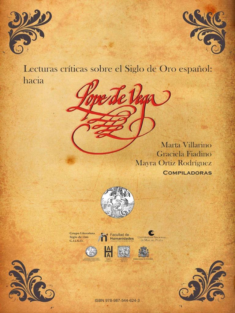 7ef5cda8f906 eBook - Lecturas Críticas Sobre El Siglo de Oro Español - Hacia Lope de Vega