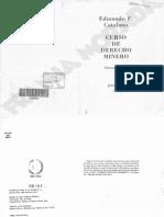 Curso de Derecho Minero Catalano