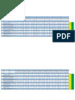 Trabajo de Estadistica Cuadros de Excel