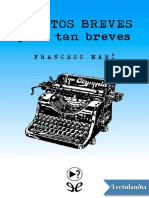 Relatos Breves y No Tan Breves - Francesc Mari