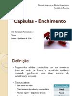 Capsulas - Enchimento