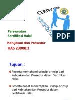 3. Kebijakan Dan Prosedur SH