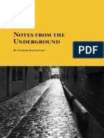 Fyodor Dostoevsky - Notes from the Underground (Psychology disturb men).pdf
