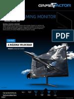 Ficha Monitor Gamer Game Factor MG600