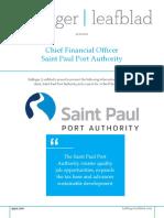 Saint Paul Port Authority - CFO - Position Profile