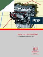 Ssp118 Motor 1.4l Tsi 16v 92kw