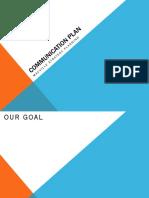 Communication CSR plan