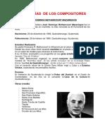 BIOGRAFÍAS  DE LOS COMPOSITORES GUATEMALTECOS.docx