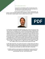 Biografía Corta de Steve Jobs Larry y Page Serguey Brin