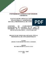 289980635 Informe de Auditoria y Dictamen de Auditoria