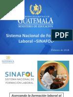 Presentación SINAFOL-280218 VC-PM