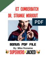 workout dr strange