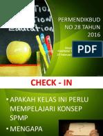 b1-Spmp-bedah Permendikbud 28 Tahun 2016