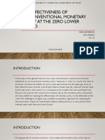 The Effectiveness of Unconventional Monetary Policy at the Zero Lower Bound