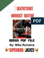 Deathstroke PDF