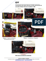 Procedimento Para Acionamento de Motor Branco 2.8 HP