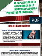 Importancia y Aplicación de La Ingeniería Económica