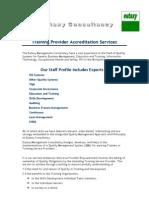 Provider Accreditation Services