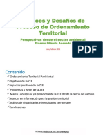 Erasmo Otárola-Ordenamiento Territorial