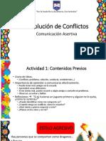 Resolución de Conflictos - Asertividad