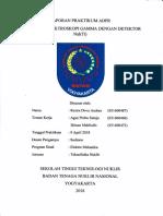 Laporan Praktikum ADPR - Detektor Sintilasi NaI(Tl)
