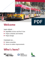 Metro boards for RapidRide H Line