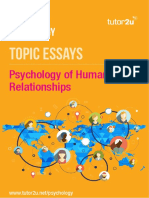 IB Psych Essay Sample