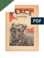 Pacea Poate Ea Dura