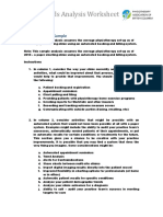 PABC Needs Analysis Sample
